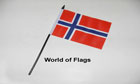 Norway Hand Flag