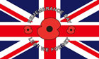 Remembrance Day Poppy Flag