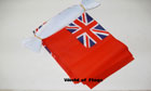 Red Ensign Bunting 6m