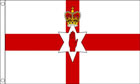 Northern Ireland Red Hand of Ulster Funeral Flag