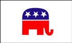 US Republican Flag LAST FEW