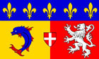Rhones Alpes Flag