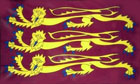 King Richard The Lionheart Funeral Flag