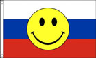 Russia Smiley Face Flag