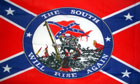 2ft by 3ft The South Will Rise Again Flag