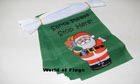 Santa Please Stop Here Christmas Bunting 9m ONLY A FEW LEFT