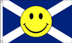 Scotland Smiley Face Flag