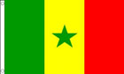 Senegal Funeral Flag