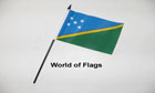 Solomon Islands Hand Flag