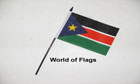 South Sudan Hand Flag