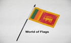 Sri Lanka Hand Flag
