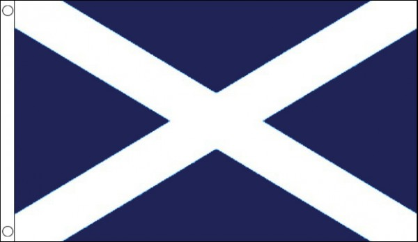 St Andrews Cross Flag Dark Blue