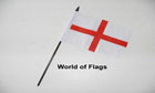 St George Cross Hand Flag