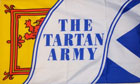 Scottish Tartan Army Flag
