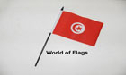 Tunisia Hand Flag