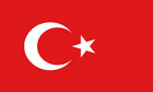 Turkey Funeral Flag
