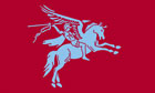 Pegasus UK Airborne Flag