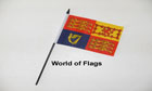 UK Royal Standard Hand Flag