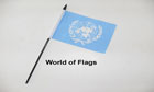 United Nations Hand Flag