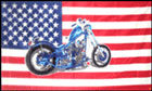 USA Motorcycle Flag LAST ONE