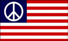 USA Peace Flag