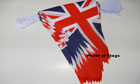Union Jack Pennant Bunting 20m Only A Few Left