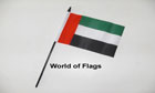 United Arab Emirates Hand Flag