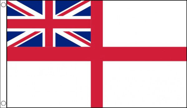 White Ensign Funeral Flag