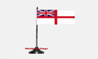 White Ensign Table Flag