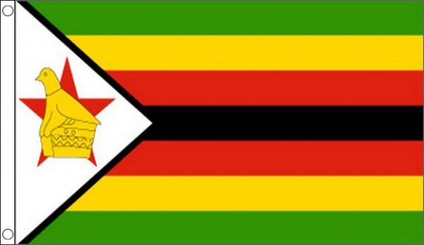 2ft by 3ft Zimbabwe Flag