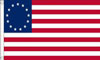 Old Historical American Flags