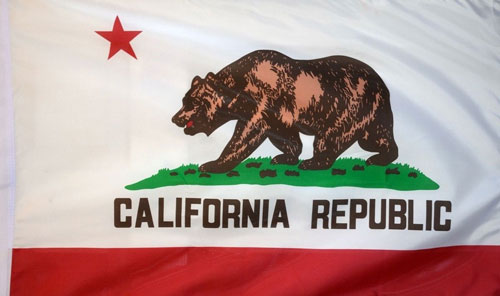 2ft by 3ft California Flag