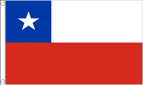 2ft by 3ft Chile Flag