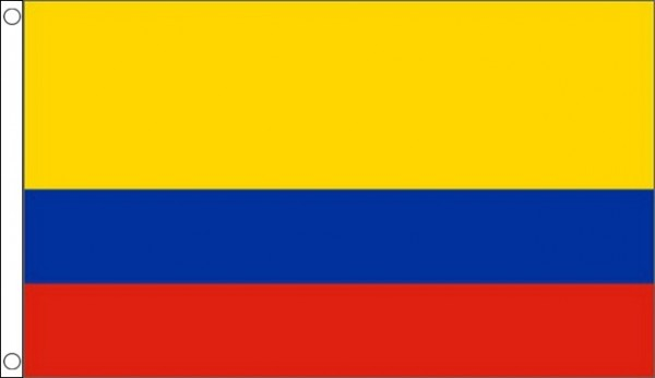 2ft by 3ft Colombia Flag