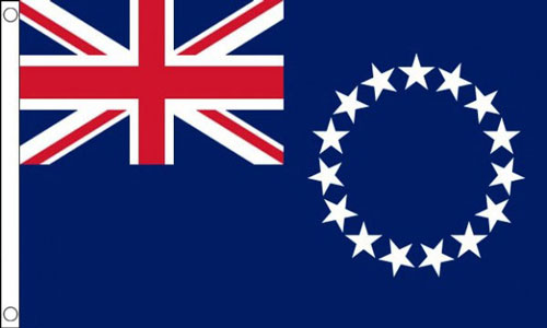 2ft by 3ft Cook Islands Flag