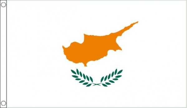 2ft by 3ft Cyprus Flag