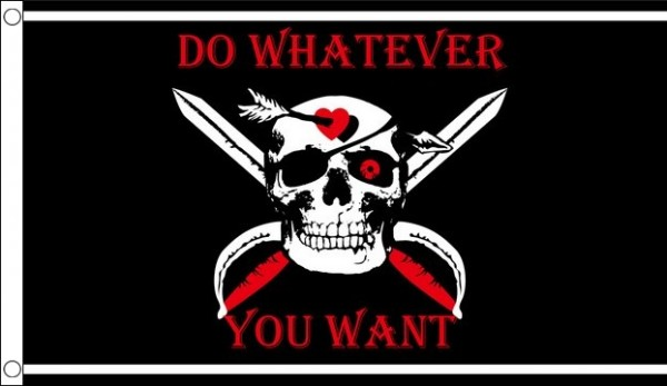 Do Whatever You Want Pirate Flag Special Offer