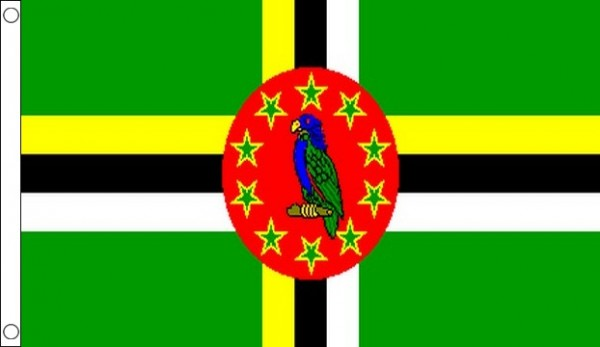 2ft by 3ft Dominica Flag