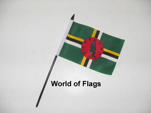 Dominica Hand Flag