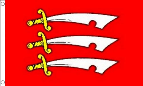 2ft by 3ft Essex Flag