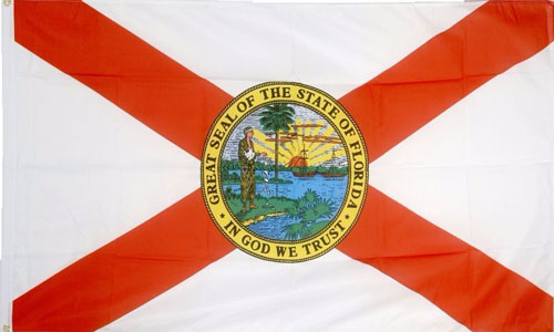 2ft by 3ft Florida Flag