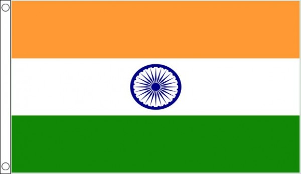 2ft by 3ft India Flag