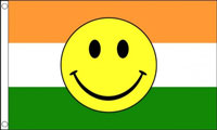 India Smiley Face Flag Only a Few Left