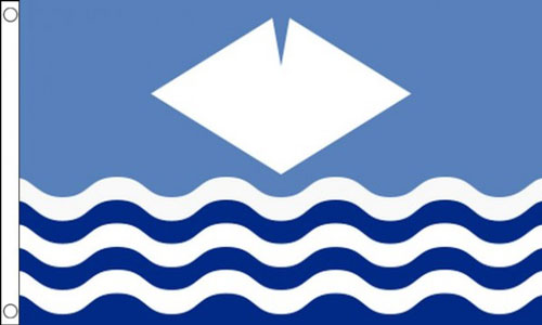 2ft by 3ft Isle of Wight Flag