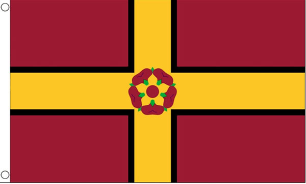 2ft by 3ft Northamptonshire Flag