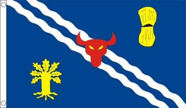 Oxfordshire Flag Old Design Only A Few Left