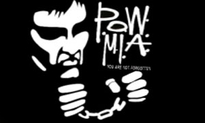 POW MIA Flag Handcuffs Flag Only A Few Left