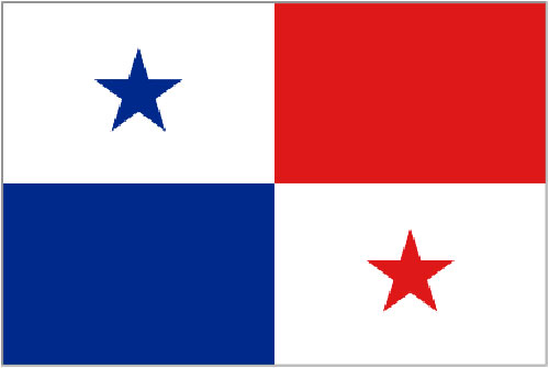 2ft by 3ft Panama Flag
