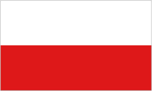 2ft by 3ft Poland Flag