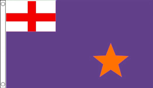 Purple Standard Flag